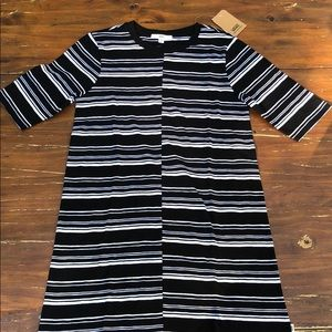 Vans t shirt striped dress sz M 🔥🔥NWT